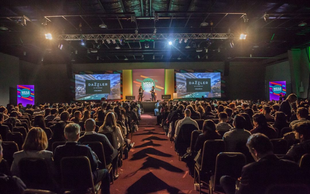 Growing attends the Endeavor Mega Experience 2019